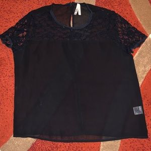 Truth brand sheer lace top